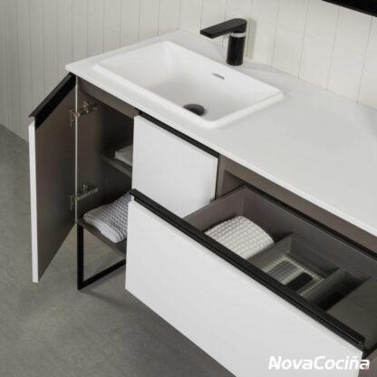Mueble de baño STRUCTURE de diseño minimalista