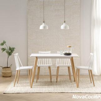 Mesa estilo nórdico CAPRI