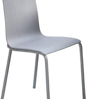 Silla de madera o lacada SILVIA color gris