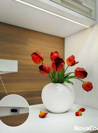 Sensores de puerta, mano, presencia y reguladores de luz