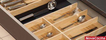Cubertero de madera COMBI SYSTEM