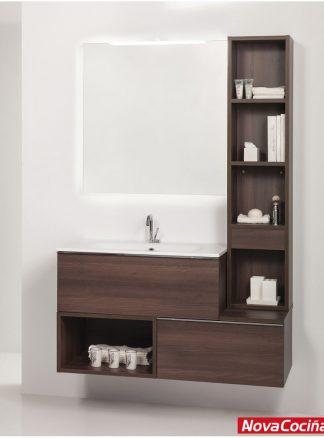 Conjunto de baño 100 cm tetris con cajones