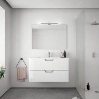 Espejo de baño rectangular MURANO
