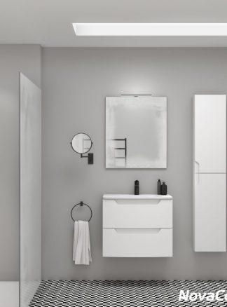 Espejo de baño con sensor de luz