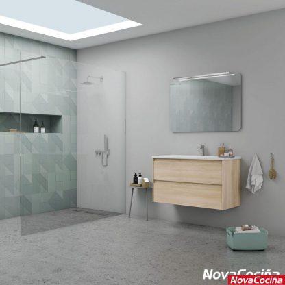Espejo de baño redondeado