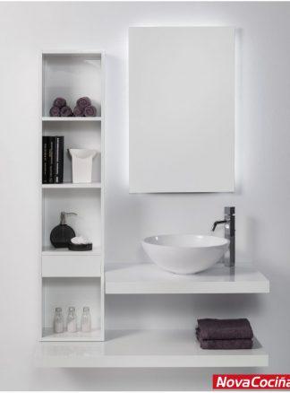 Conjunto de baño 100 cm tetris