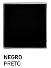 muestra de cristal negro