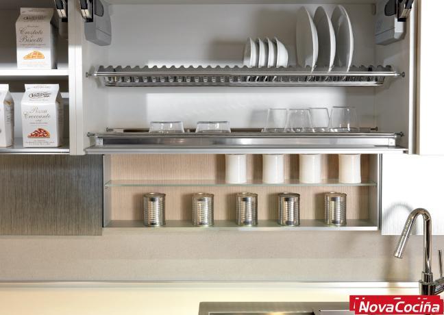 Escurreplatos para mueble de cocina   ANova Cociña