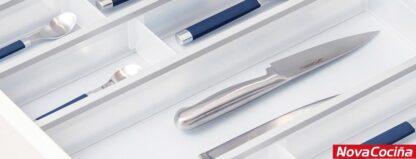 Cubertero de plástico y aluminio FUSION SYSTEM