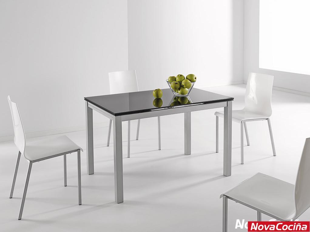 Mesa extensible para cocina modelo Karina | ANova Cociña