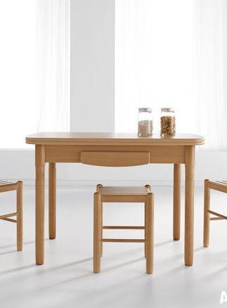 mesa extensible para cocina modelo Koe