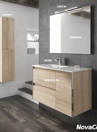 Conjunto completo de baño modelo LOOK
