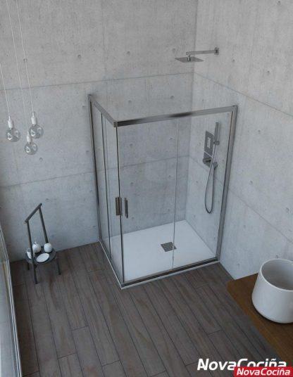 Mampara de ducha rectangular modelo Orinoco