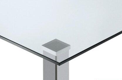 Pata cuadrada de aluminio