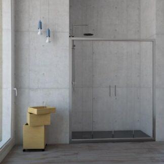 Mampara de ducha frontal modelo Rin
