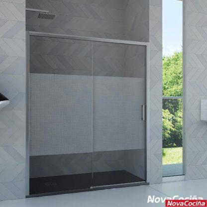 Mampara de ducha frontal modelo Sena