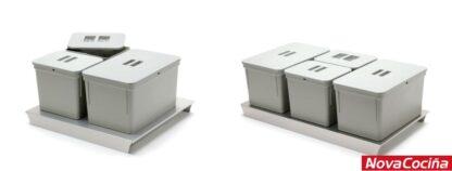 Cubos para gaveteros Serie 4