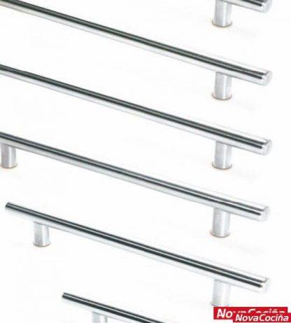 Asas de acero inoxidable para mueble de cocina