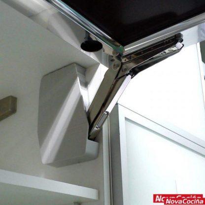 Sistema de alzamiento de puerta free flap M54