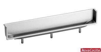 Tirador embutido rectangular para mueble MA4089
