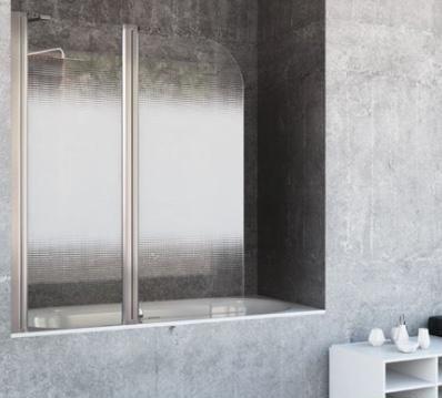 Mampara de bañera frontal abatible ST Nagoya