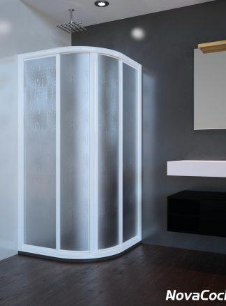 Mampara de ducha semicircular ST París