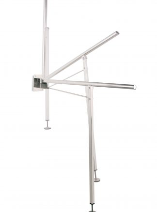 Asidero angular abatible con pata Serie 304