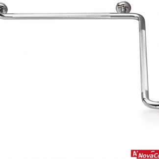 Asidero angular 90 ducha 2 paredes Inox Serie 304
