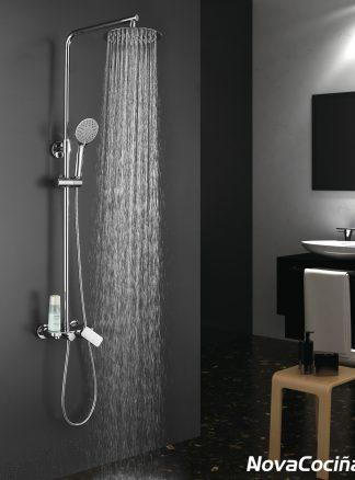 Combi de ducha con monomando Dual Round