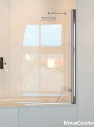 Mampara de bañera frontal abatible ST Hanoi