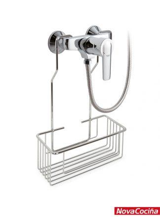 Jabonera para grifo de ducha