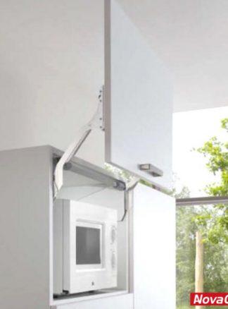 Sistema de alzamiento de puerta free up M61