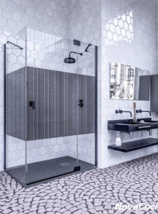 Mampara de ducha angular Surín