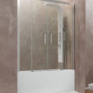 Mampara de bañera frontal Aktual Spazio GME
