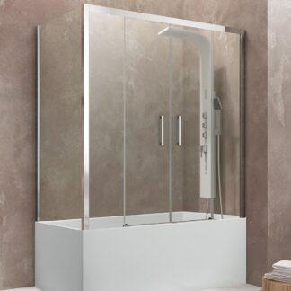 Mampara de bañera angular Aktual Spazio GME