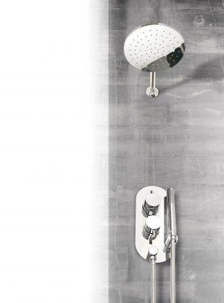Conjunto de ducha de empotrar redondo GME