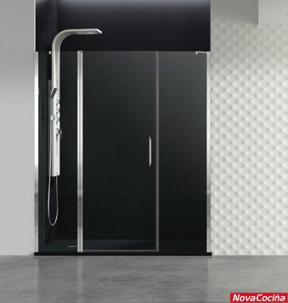 Mampara frontal fijo + puerta + fijo Open Combi F GME