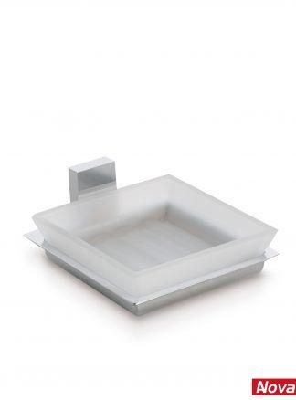 Jabonera con cristal diseño Roma