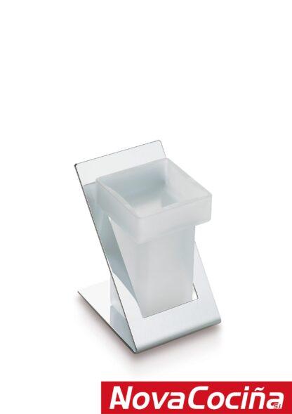 Vaso y portavasos de encimera diseño Roma