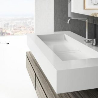 Lavabo encimera Reflection de Silestone