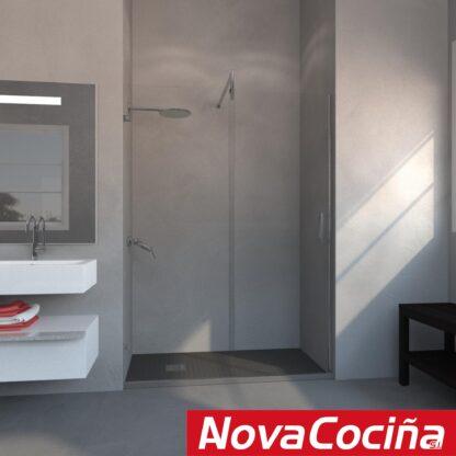 Mampara de ducha frontal de corredera AMMÁN
