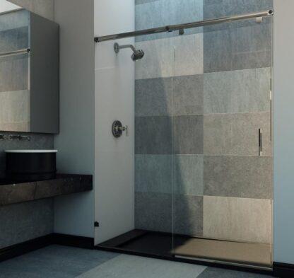 Mampara de ducha frontal 1 coredera 1 fija JANEIRO
