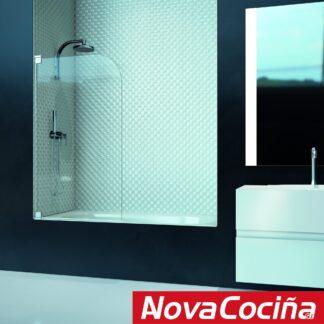 Mampara de bañera abatible NÁPOLES