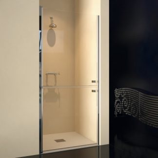 Mampara de ducha frontal abatible DILI