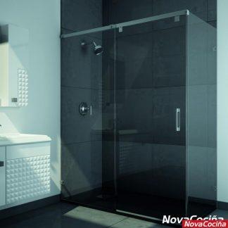 Mampara de ducha angular corredera ACAPULCO