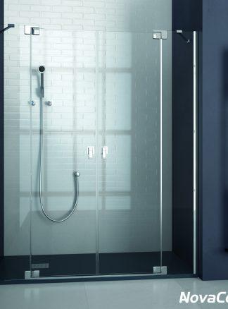 Mampara de ducha frontal abatible BALI