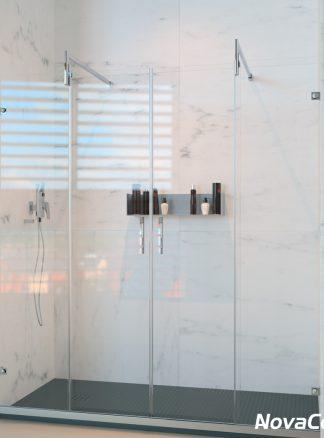Mampara de ducha frontal PRAGA
