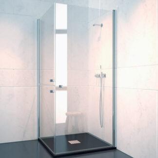 Mampara de ducha angular abatible FEZ