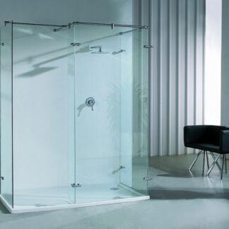 Mampara de ducha angular fija SURAT