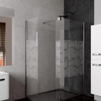 Mampara de ducha lienzo angular ZAGREB
